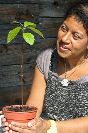 Jenny med Dr Herberts mystiska planta