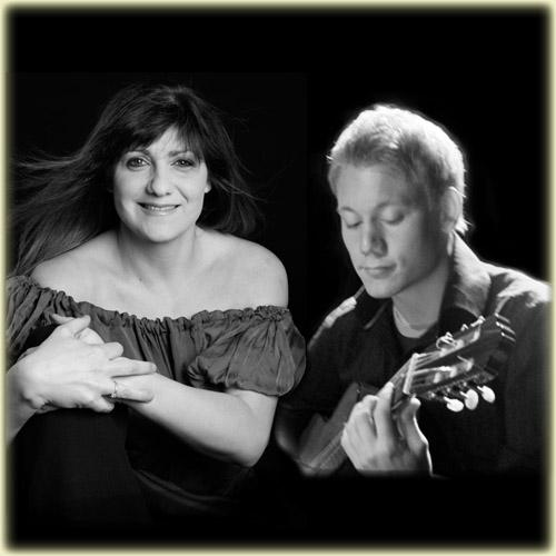 Karolina Vucidolac och Tobias Grim spelar på Lärjeåns Kafé & Trädgårdar den 19 oktober.