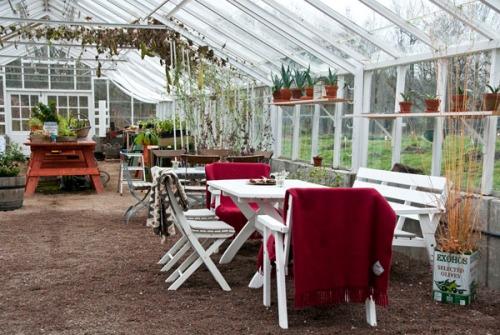 Växthuset november. Foto: Isolde Berner
