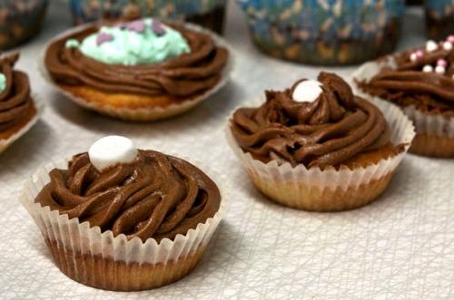 Cupcakes, ett resultat av Kajskjul 46: bakkurs. Foto_ Isolde Berner