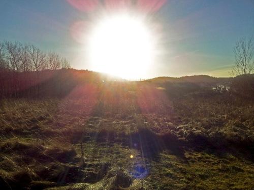 Sol över Storås 2 jan Tomas Bodling