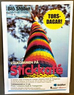 Stickkafe poster