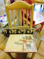 Gammal stol blir ny designerstol på Kajskjul 46. Foto: Paris Moghadam