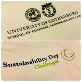 Tryckt på t-shirts från Dem Collective, ekologiskt och rättvisemärkt. Foto: Tess Johansson