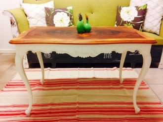 Läckert nyrenoverat soffbord för 700 kr. Foto: Parisa Moghadam