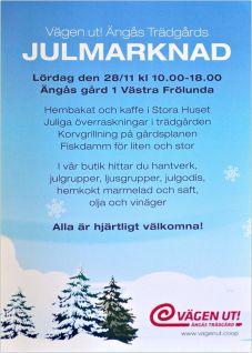 Julmarknad Ängås stor