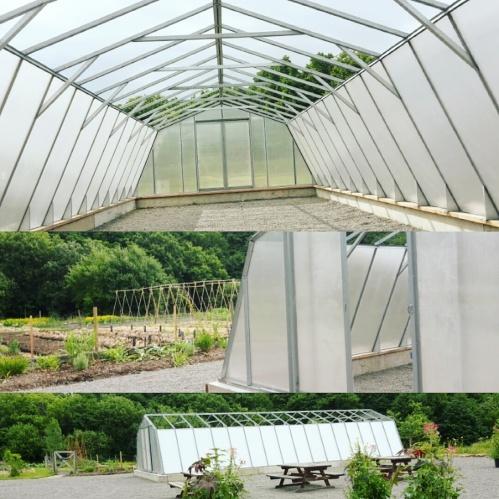 Växthuset växer fram